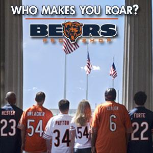 Chicago Bears Team Jerseys Banner Ad