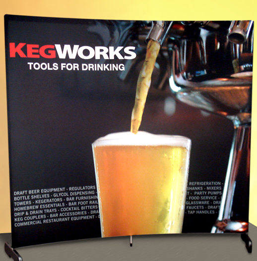 KegWorks trade show display