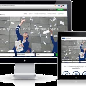 TWC Wealth Management Responsive Website UX