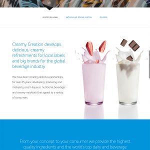 CreamyCreation-website