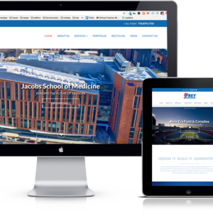 Frey Electric responsive website