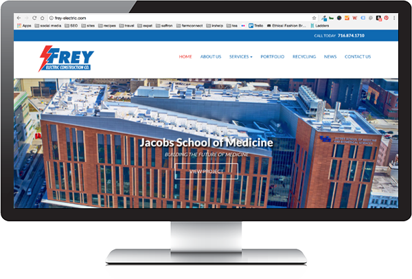 Frey Electric Website