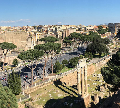 My weekend trip to Rome in March